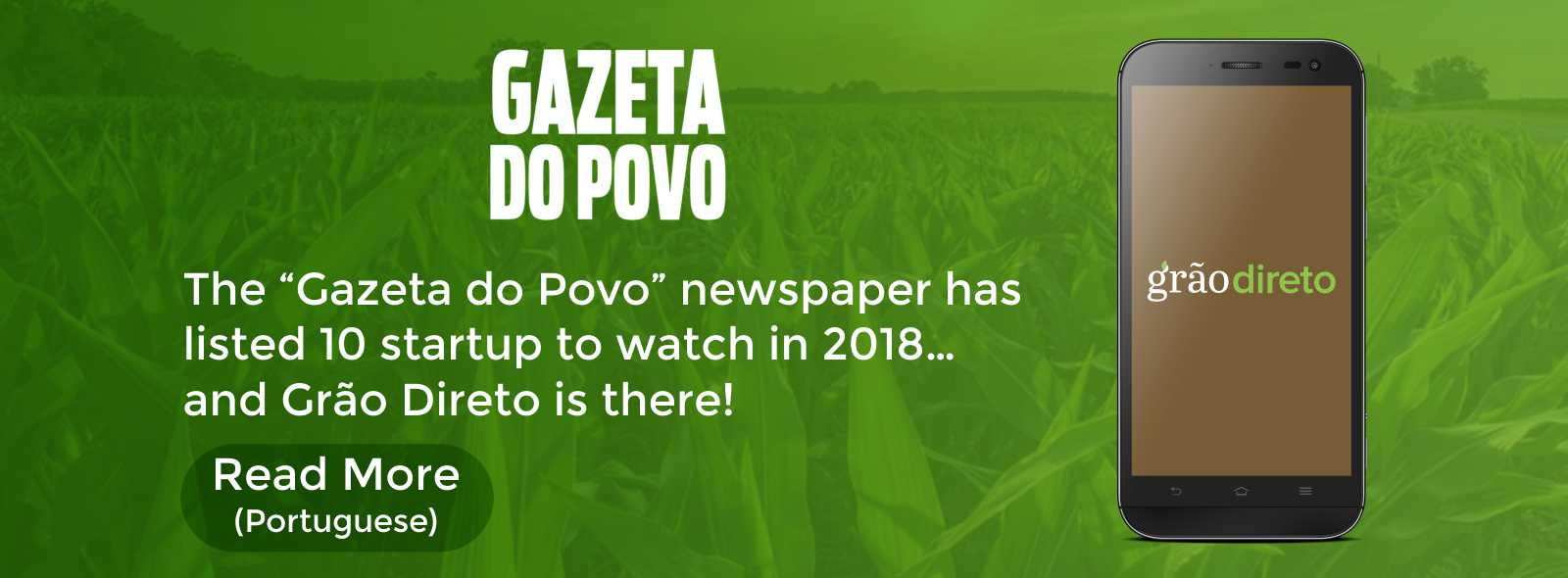 Grão Direto | Technology connecting Farmers and Grain buyers